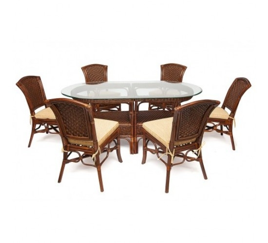 комплект мебели Стол + 6 стульев
