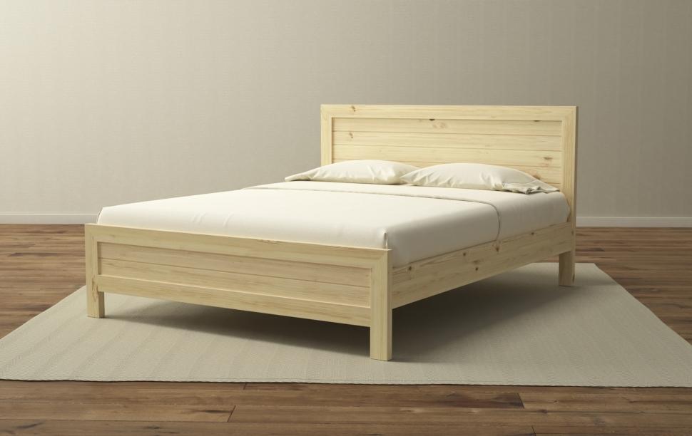 Кровать массив карельской сосны Торонто 80-90-120-140-160-180-200     0219